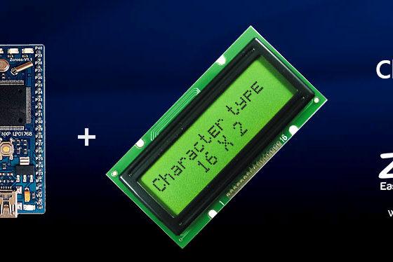 راه اندازی LCD کاراکتری توسط EasyMCU