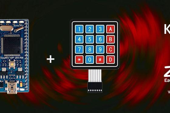 آموزش راه اندازی keypad ماتریسی توسط EasyMCU